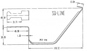 Squareline Overstrap